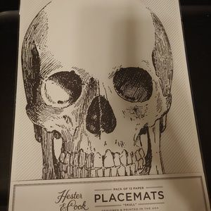 Other - Skull placemats